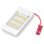 4.5W 8000K 210-Lumen 9-LED White Light Car Dome Lamp w/ T10 / SV85 Connectors (DC 12V)