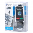 "0.9"" LCD Car MP3 Player FM Transmitter w/ Bluetooth Handsfree Kit For iPhone / iPod (DC 12~24V)"