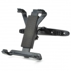 Car Headrest Pillow Mount Holder for Tablet PC - Black
