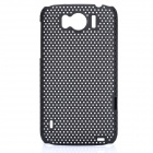 Mesh Protective PC Back Case for HTC Sensation XL / X315E / G21 - Black