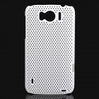 Mesh Protective PC Back Case for HTC Sensation XL / X315E / G21 - White