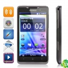 "X15i Android 2.3 WCDMA TV Smartphone w/ 4.3"" Capacitive, Dual SIM, Wi-Fi and GPS - Grey"