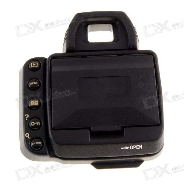 DOLLARS LCD Screen Shade Hood for Nikon D200