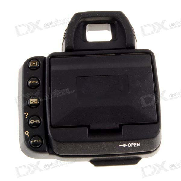 DOLLARS LCD Screen Shade Hood for Nikon D70S and D80