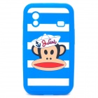 Paul Frank Image Style Protective Silicone Case for Samsung S5830 - Blue