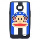 Paul Frank Image Style Protective Silicone Case for Samsung i9100 - Black
