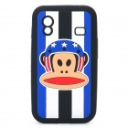 Paul Frank Image Style Protective Silicone Case for Samsung S5830 - Black