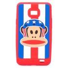 Paul Frank Image Style Protective Silicone Case for Samsung i9100 - Red