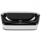 Portable Charging Dock Cradle + USB Data Cable for Samsung Galaxy nexus/i9250 - Black