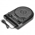 USB Turntable Vinyl LP to MP3 Converter - Black