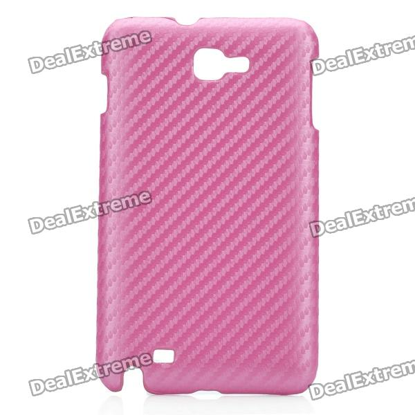 Protective PC Back Case for Samsung i9220 / Galaxy Note / N7000 -Pink protective leather case screen protectors for samsung galaxy note i9220 gt n7000