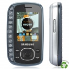 "Refurbished Samsung B3310 QWERTZ-GSM-Telefon w/2.0 ""LCD Display, Triband, Java-und FM - Black"