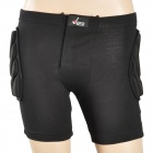 Sports Snowboard Hip Protector Shorts for Kids - Black (Size-XXS)