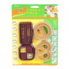 Classic Cookies Shaped Biscuit Cookie Cutter Mold Set (4-Piece Pack)