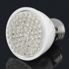E27 3W 210-5500-6000K 240lm 60-LED White Light Bulb (220V)