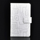Protective PU Leather Case Pouch for Samsung Galaxy Note i9220 / GT-N7000 - White