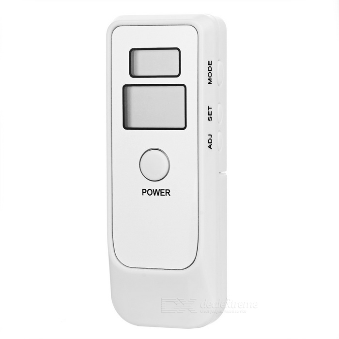 Dual LCD Breathalyzer with Watch and Alarm