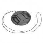 67mm Digital Camera Lens Cap Cover - Black