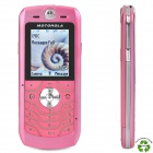 "Refurbished Motorola L6 GSM Cell Phone w/1.8"" TFT LCD, Quadband and JAVA - Pink"