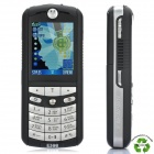 "Refurbished Motorola E398 GSM Music Phone w/ 1.8"" LCD Screen, Tri-band and Java - Black"