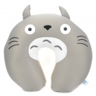 Cute Totoro Style Neck Pillow - Grey + Yellow
