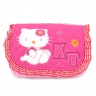 Nettes Hallo Kitty Pattern PU-Leder One-Shoulder-Bag for Kids - Pink