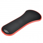 2-in-1 Desktop Chair Forearm Support Handrest Mouse Pad - Red
