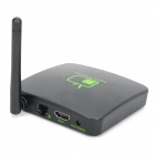 001-TV 1080P Android 2.3 Google TV Player w / WiFi / TF / USB / HDMI / RJ45 - Noir