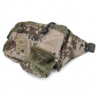 Camouflage Water Resistant Canvas Fabric Waist Bag