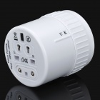 Universal Travel Power Plug Adapter - White
