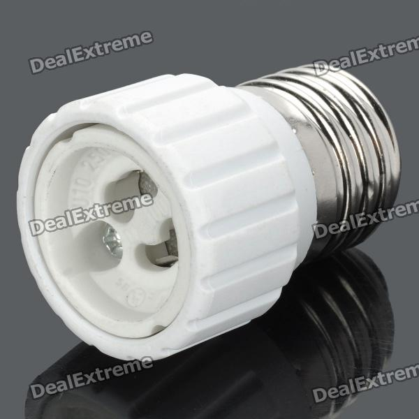 GU10 to E27 Light Lamp Bulb Adapter Converter (220V) e27 to e14 light lamp bulb adapter converter
