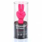 Cute V Gesture Style USB Flash Drive - Pink (4GB)