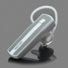 Bluetooth V3.0 Class 2 Handsfree Headset - White + Green (3 Hours-Talking / 80 Hours-Standby)