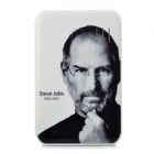 Steve Jobs Pattern 5000mAh Emergency Mobile Charger w/ 9 Charging Adapters for iPhone / Cell Phone