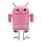 Stylish Mini Android Robot Style Rechargeable MP3 Music Player Speaker with FM / TF Slot - Pink