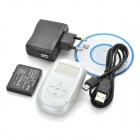 Mini GSM / GPS Personal Position Tracker for Car / Child / Elder - White