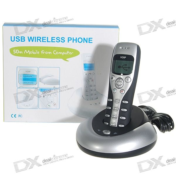 2.4Ghz Wireless Skype VOIP USB Phone