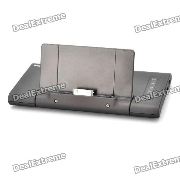 Portable Folding 5000mAh Emergency Power Battery Charging Dock for iPad 2 / iPhone 3G / 3GS / 4 / 4S