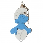 Wooden Smurfs Image Style Cell Phone Strap - Random Style