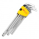 Rewin Ball Head Hex Wrench - XL Size (9-Piece Set)