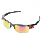 Designer's Outdoor Sports Cycling UV400 Protection Goggles (Black Frame)