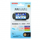 Protective Clear Screen Protector Guard Film for PS Vita
