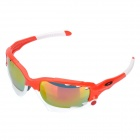 Fashion Outdoor Sports Cycling UV400 Protection Goggles (Red Frame)
