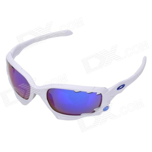 Fashion Outdoor Sports Cycling UV400 Protection Goggles (White Frame)