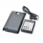 Thickened 3.7V 5000mAh Battery w/ Battery Cover for Samsung Galaxy Note / i9220
