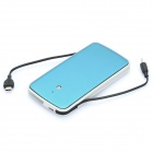 Portable Rechargeable 3200mAh Battery Power Pack - Blue + White