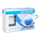 Mini GSM / GPS Personal Position Tracker for Car / Child / Elder / Pet - White