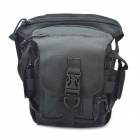 Military Tactical War Game Multi-Purpose Leg Bag / Shoulder Bag - Black