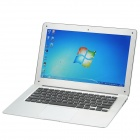 "Stilvolles 13,3 ""LCD Windows 7 CPU Atom D525 Notebook w / Wi-Fi + HDMI (1,8 GHz / 32GB SSD / 2GB DDR3)"