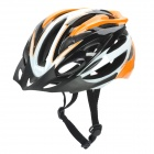 Cool Sports Cycling Helmet - Orange + White + Black